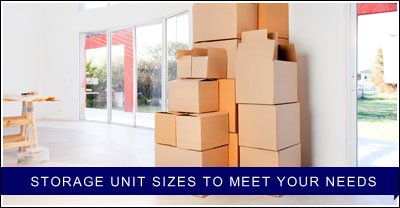 Storage Unit Sizes